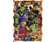 Gear No: njo4de073  Name: Ninjago Trading Card Game (German) Series 4 - #73 Team Meister der Elemente Card