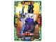 Gear No: njo4de080  Name: Ninjago Trading Card Game (German) Series 4 - #80 Krasse Ultra Violet Card