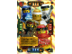 Gear No: njo4de153  Name: Ninjago Trading Card Game (German) Series 4 - #153 Drachen-Meister Card