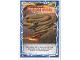 Gear No: njo4de155  Name: Ninjago Trading Card Game (German) Series 4 - #155 Coles Spinjitzu Wirbel Card