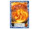 Gear No: njo4de156  Name: Ninjago Trading Card Game (German) Series 4 - #156 Kais Spinjitzu Wirbel Card