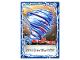Gear No: njo4de157  Name: Ninjago Trading Card Game (German) Series 4 - #157 Nyas Spinjitzu Wirbel Card