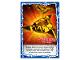 Gear No: njo4de182  Name: Ninjago Trading Card Game (German) Series 4 - #182 Wurfsterne des Eises Card