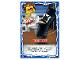 Gear No: njo4de185  Name: Ninjago Trading Card Game (German) Series 4 - #185 Kickboxen Card