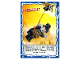 Gear No: njo4de188  Name: Ninjago Trading Card Game (German) Series 4 - #188 Erwischt! Card