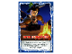 Gear No: njo4de189  Name: Ninjago Trading Card Game (German) Series 4 - #189 Unter Beobachtung Card
