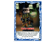 Gear No: njo4de190  Name: Ninjago Trading Card Game (German) Series 4 - #190 Volle Windel Card