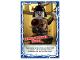 Gear No: njo4de191  Name: Ninjago Trading Card Game (German) Series 4 - #191 Zerknautschter Tänzer Card