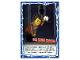 Gear No: njo4de192  Name: Ninjago Trading Card Game (German) Series 4 - #192 Ich muss maaal! Card