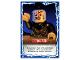 Gear No: njo4de194  Name: Ninjago Trading Card Game (German) Series 4 - #194 Handstand Card