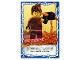 Gear No: njo4de198  Name: Ninjago Trading Card Game (German) Series 4 - #198 Kettenknoten Card