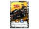 Gear No: njo4de201  Name: Ninjago Trading Card Game (German) Series 4 - #201 Drachen-Fänger Card
