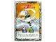 Gear No: njo4de209  Name: Ninjago Trading Card Game (German) Series 4 - #209 Zane: Drachenmeister Card
