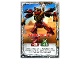 Gear No: njo4de211  Name: Ninjago Trading Card Game (German) Series 4 - #211 Samurai-Roboter Card