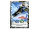 Gear No: njo4de213  Name: Ninjago Trading Card Game (German) Series 4 - #213 Zanes Schneemobil Card