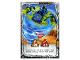 Gear No: njo4de223  Name: Ninjago Trading Card Game (German) Series 4 - #223 Spinjitzu Jay Card