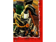 Gear No: njo4de243  Name: Ninjago Trading Card Game (German) Series 4 - #243 Puzzle Card