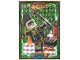 Gear No: njo4deLE24  Name: Ninjago Trading Card Game (German) Series 4 - LE24 Mega Böse Jet Jack Card
