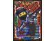 Gear No: njo4plLE4  Name: Ninjago Trading Card Game (Polish) Series 4 - LE4 Mega Power Nya Card