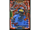 Gear No: njo4plLE6  Name: Ninjago Trading Card Game (Polish) Series 4 - LE6 Mega Power Jay Card