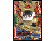 Gear No: njo4plLE7  Name: Ninjago Trading Card Game (Polish) Series 4 - LE7 Mega Power Samuraj X Card