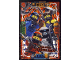 Gear No: njo4plLE8  Name: Ninjago Trading Card Game (Polish) Series 4 - LE8 Mega Power Drużyna Ninja Card