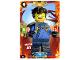 Gear No: njo5de031  Name: Ninjago Trading Card Game (German) Series 5 - # 31 Wüsten Jay Card
