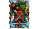 Gear No: njo5de046  Name: Ninjago Trading Card Game (German) Series 5 - # 46 Team Nimmer-Welt Ninja Card