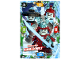Gear No: njo5de100  Name: Ninjago Trading Card Game (German) Series 5 - #100 Böses Team Nimmer-Welt Card