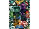Gear No: njo5de111  Name: Ninjago Trading Card Game (German) Series 5 - #111 Mächtiges Rattenpack Card