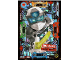 Gear No: njo5deLE4  Name: Ninjago Trading Card Game (German) Series 5 - LE4 Digi Zane Limited Edition Card