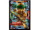 Gear No: njo5plLE2  Name: Ninjago Trading Card Game (Polish) Series 5 - LE2 Złoty Ninja Edycja Limitowana Card