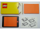 Gear No: notebl7  Name: Memo Pad Holder for Pop Up Notes, Lego Logo pattern