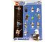 Gear No: p08swmg  Name: Star Wars 2008 Mini-figure Gallery Poster, Clone Wars