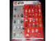 Gear No: p09swmg2  Name: Star Wars 2009 Minifigure Gallery Poster, Version 2