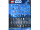 Gear No: p11sww  Name: Star Wars 2011 Minifigure Gallery Poster, Legoland California Weekend version