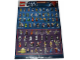 Gear No: p12sw5  Name: Star Wars 2012 Minifigure Gallery Poster (6015099)