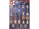 Gear No: p12sw6  Name: Star Wars 2012 Minifigure Gallery Poster (6003019)