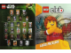 Gear No: p13sw3  Name: Star Wars 2013 Minifigure Gallery Poster, Lego Club France Poster (Double-Sided)