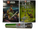 Gear No: p13swmg1  Name: Star Wars 2013 Minifigure Gallery Poster in Lightsaber-Shaped Cardboard Tube, The Yoda Chronicles
