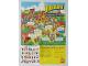Gear No: p83fab2  Name: Fabuland Poster, El cumpleanos del Alcalde (93711(A)-E)