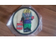 Gear No: patch27  Name: Patch, Sew-On Cloth Round, Minifigure Pharaoh Mummy Hotep