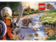Gear No: pc03adv02  Name: Postcard - Adventurers Orient Expedition 02 - River with Wildlife