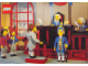Gear No: pc91lpale  Name: Postcard - Lego World Expo, Pirates Ahoy - Trial Scene (921273)