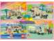 Gear No: pc92paradisa  Name: Postcard - Paradisa Sets 6405, 6411, 6416 and 6419 (922053)