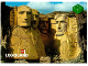 Gear No: pcLB098  Name: Postcard - Legoland Parks, Legoland Billund - Mount Rushmore, USA