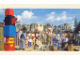 Gear No: pcLB122  Name: Postcard - Legoland Parks, Legoland Billund - Legoredo with Mount Rushmore Model 3