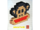 Gear No: pfstk02  Name: Sticker, Paul Frank - Julius Head Mosaic