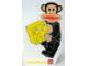 Gear No: pfstk03  Name: Sticker, Paul Frank - Julius Holding Brick