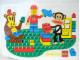 Gear No: pfstk04  Name: Sticker, Paul Frank - Julius, Minifigure, and Bear Building